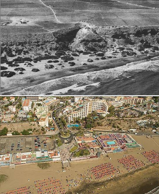playa-de-ingles-1970-2016