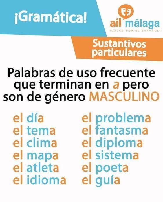 Nomi che in spagnolo terminano con la a ma sono di genere - Nomi agenzie immobiliari ...